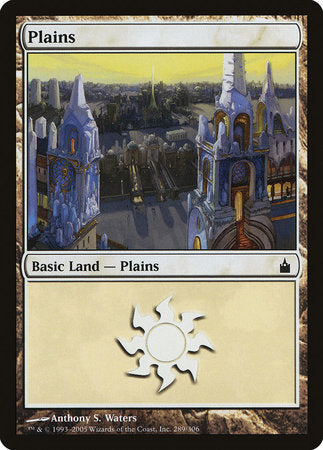 Plains (289) [Ravnica: City of Guilds] | Boss Minis