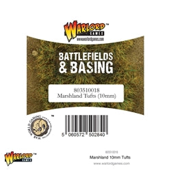 Battlefields and Basing: Marshland Tufts Tufts 10mm | Boss Minis