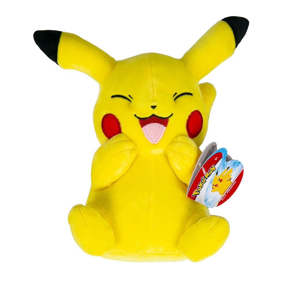 Pokemon - 20cm Plush - Laughing Pikachu | Boss Minis