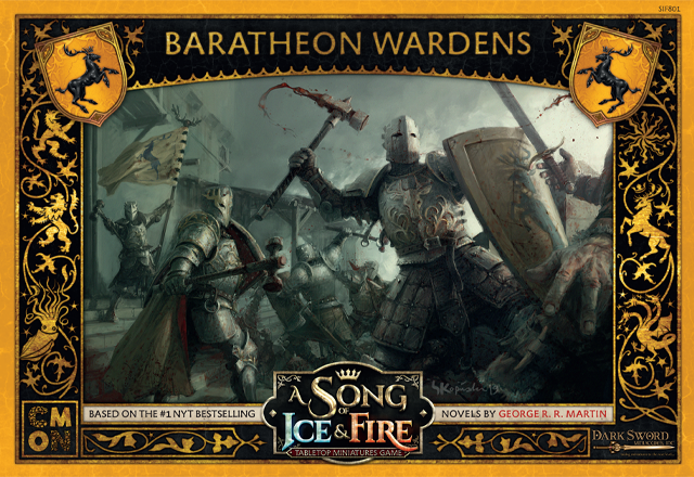 A SONG OF ICE & FIRE TABLETOP MINIATURES GAME: BARATHEON WARDENS | Boss Minis