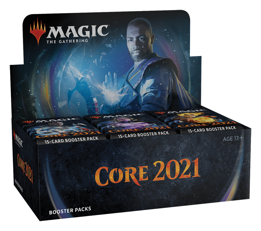 Magic: The Gathering - Core 2021 Booster Display | Boss Minis