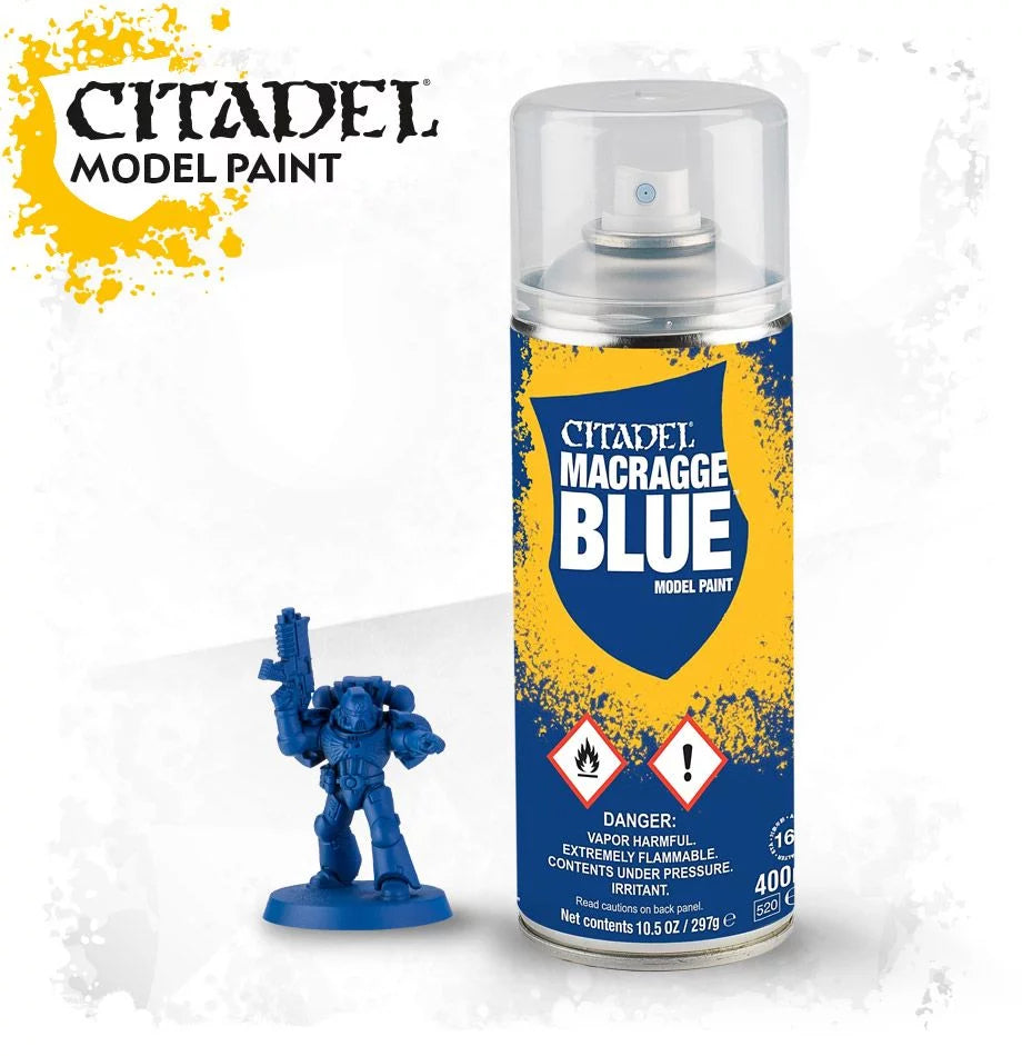 CITADEL SPRAY PAINT: MACRAGGE BLUE SPRAY | Boss Minis