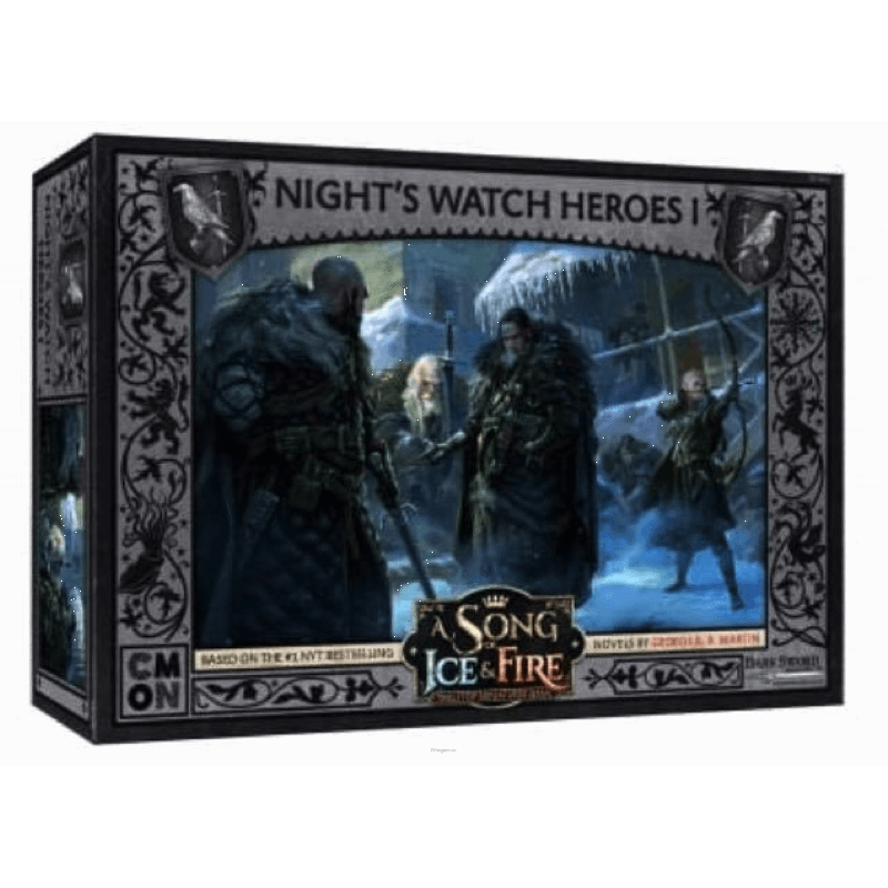 A SONG OF ICE & FIRE TABLETOP MINIATURES GAME - NIGHT'S WATCH HEROES # 1 | Boss Minis