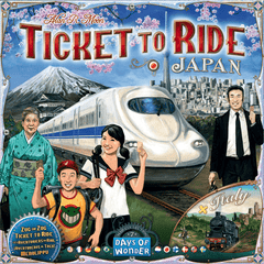 TICKET TO RIDE MAP COLLECTION: VOLUME 7 – JAPAN & ITALY | Boss Minis