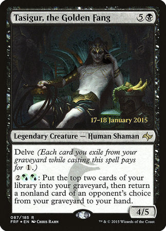Tasigur, the Golden Fang [Fate Reforged Promos] | Boss Minis