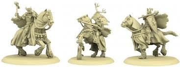 A SONG OF ICE AND FIRE: BARATHEON CHAMPIONS OF THE STAG | Boss Minis