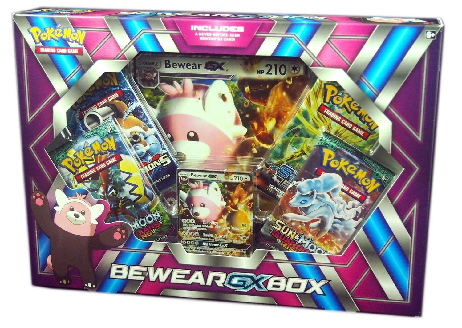 Pokemon: Bewear-GX Box | Boss Minis