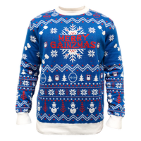 Merry Gainzmas Sweater (blue)