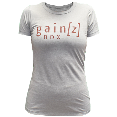 Gainz Box T-Shirt (female)