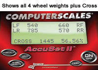 Computerscales® AccuSet II™ Karting