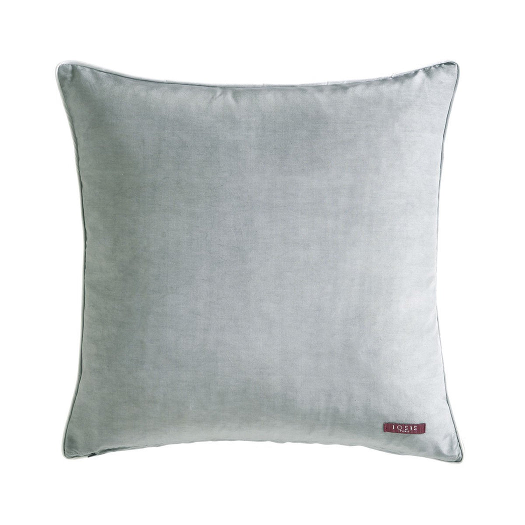 Yves Delorme Lubie Argent Accent Pillow