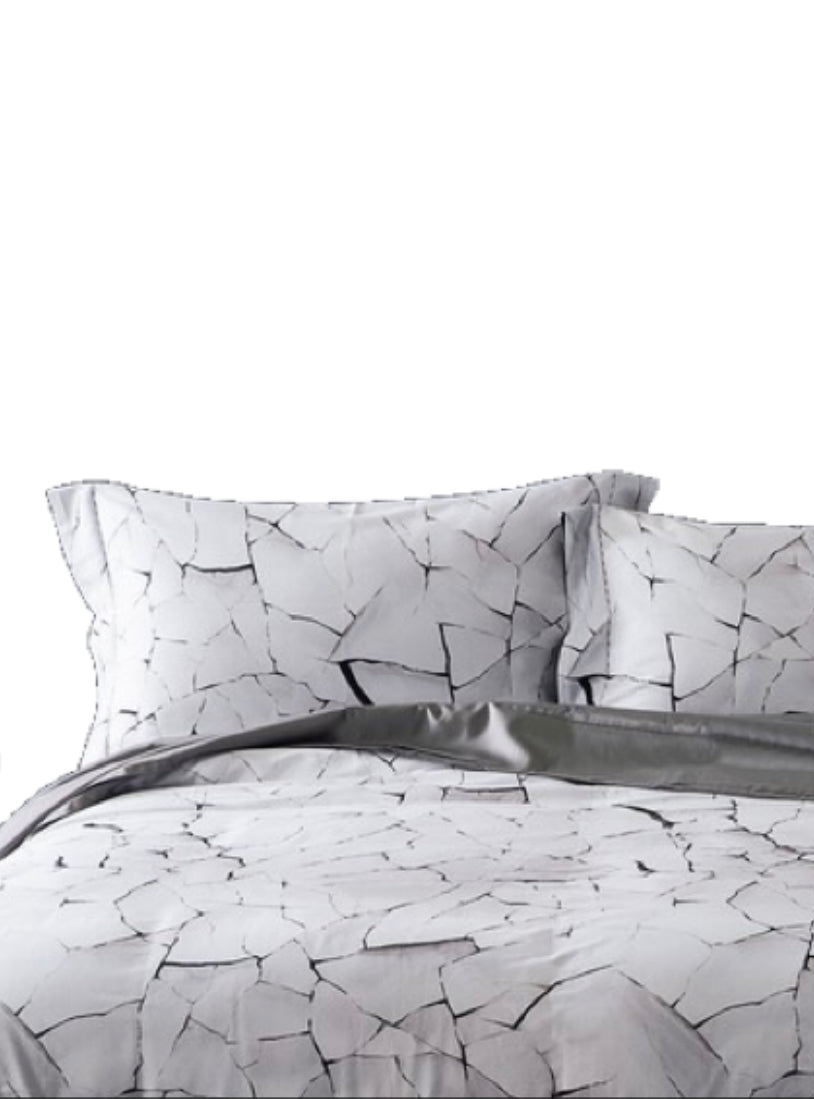 Cracked Ice Duvet Set