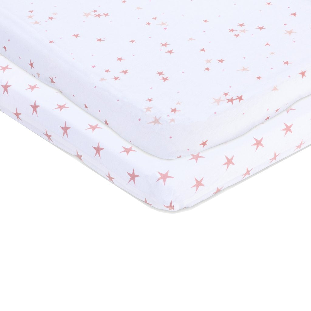 Mauve Star Sheet set