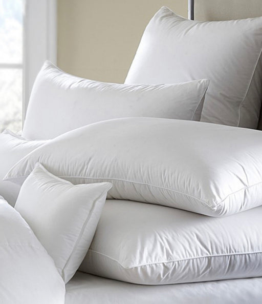 Mackenza White Down Pillow By Downright