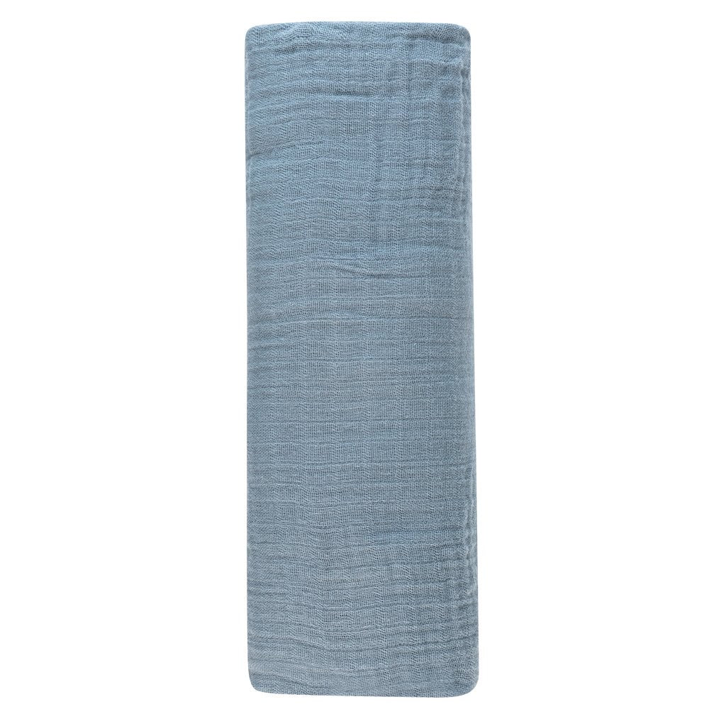 Ocean Blue Swaddle Blanket