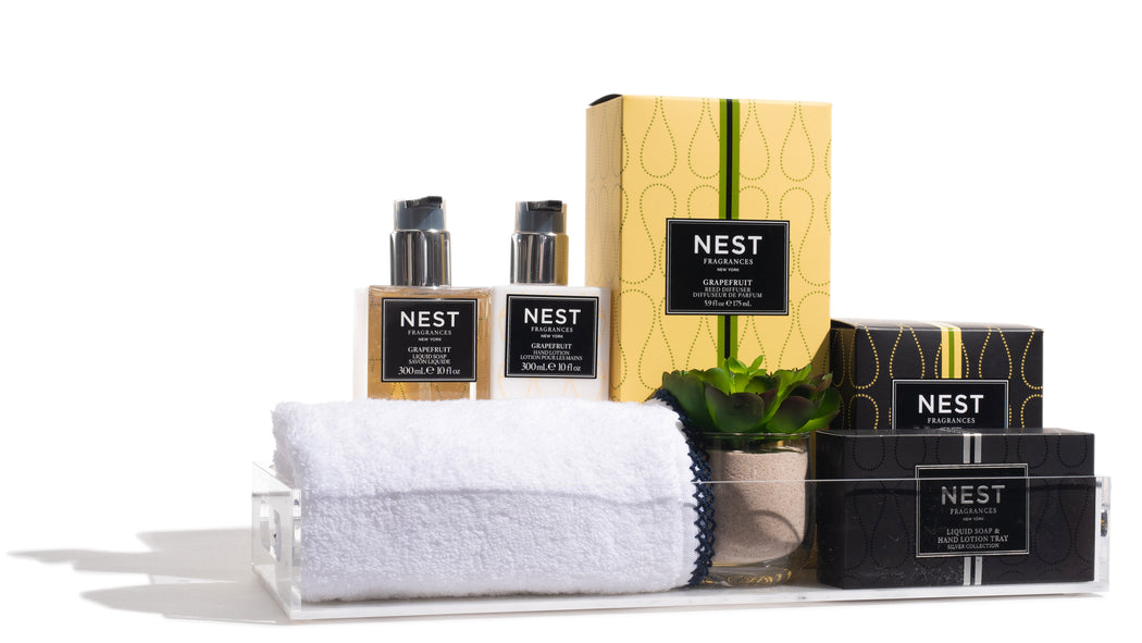 Nest Fragrance Gift Set With Towel