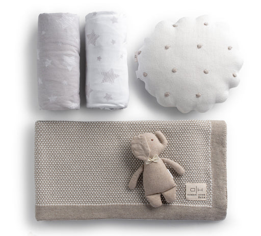 Taupe Crib Gift Set
