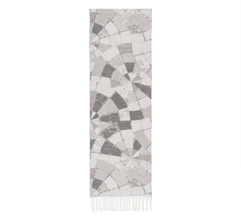 Mosaic Jacquard Throw