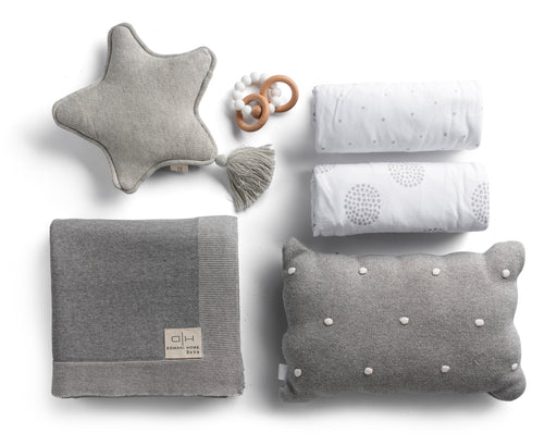 Gray Crib Gift Set