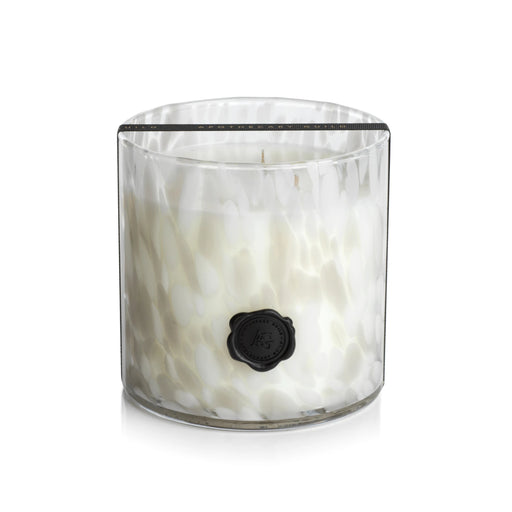 Opal Glass Three Wick Candle