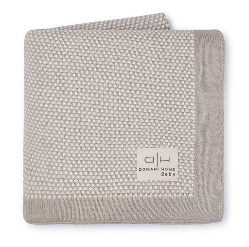 DH Stipple Light Beige Baby Blanket