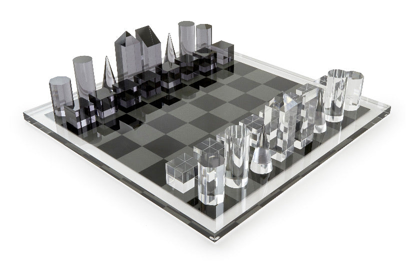 Tizo Lucite Chess Set