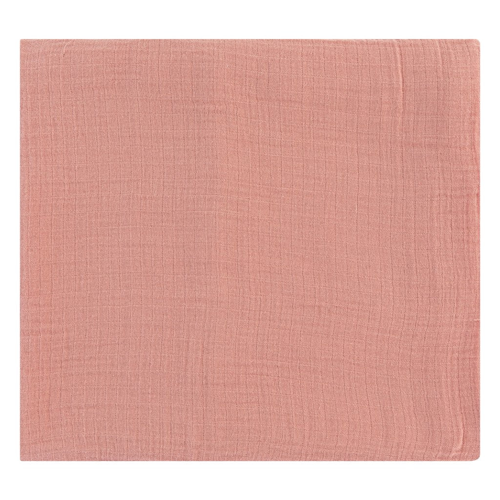Dusty Rose Swaddle Blanket