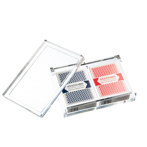 Lucite Playing Card Gift Set