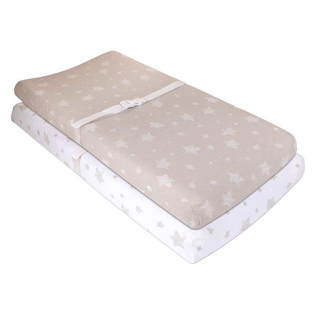 Drawn Stars Changing Pad Cover Set