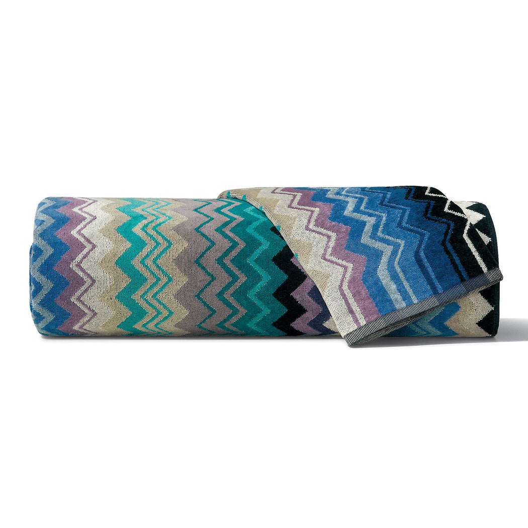 Missoni Blue Giacomo Towel