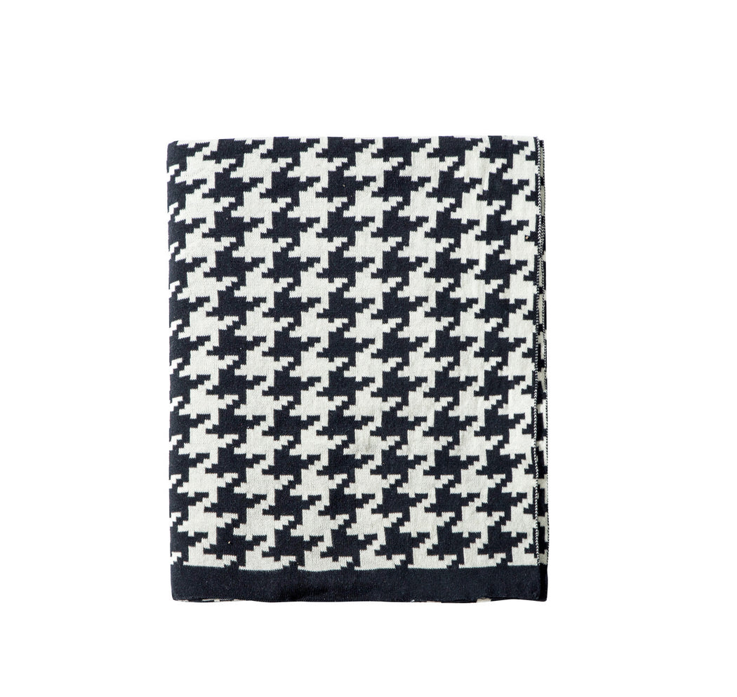 Houndstooth Throw Blanket