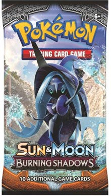 Sun and Moon - Burning Shadows Booster Pack
