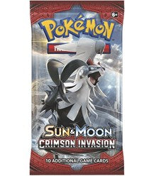 Sun and Moon - Crimson Invasion Booster Pack