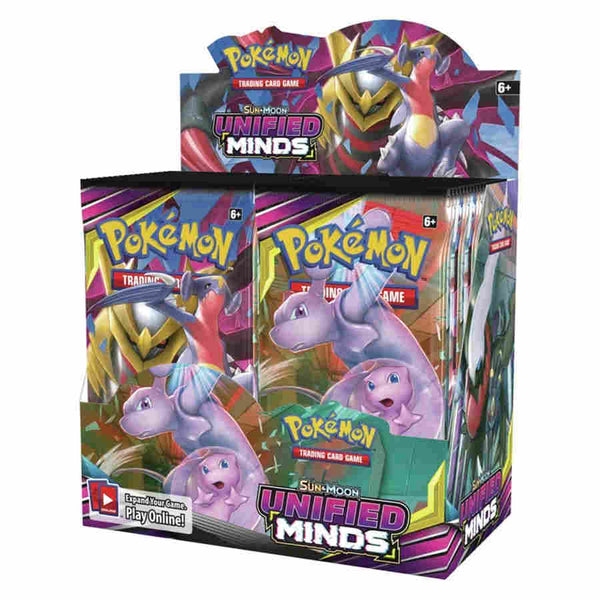 Sun and Moon - Unified Minds Booster Box (Sealed/Unopened)