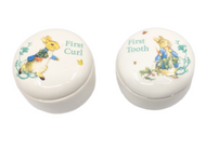 PETER RABBIT GIFT SET: MY FIRST TOOTH & CURL.