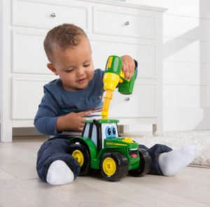 BUILD-A-JOHNNY TRACTOR-JOHN DEERE