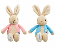 PETER RABBIT OR FLOPSY BEANIE PLUSH RATTLE