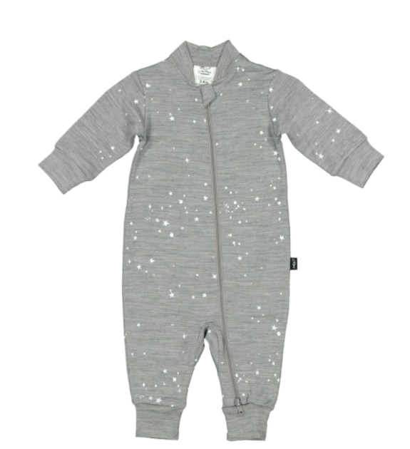 LFOH-REMY ALL-IN-ONE, GREY MARLE STARS- MERINO