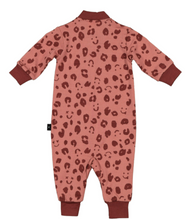 Load image into Gallery viewer, LFOH-REMY ALL-IN-ONE, ROSEBUD CHEETAH- MERINO