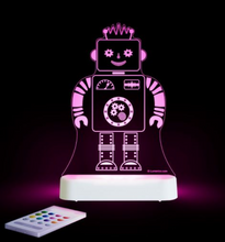 Load image into Gallery viewer, LED NIGHT LIGHT (USB/BATTERY) - ROBOT