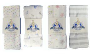 Muslin Swaddle Blanket (Click for different designs)