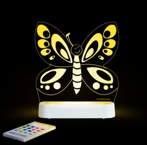 LED NIGHT LIGHT (USB/BATTERY) - BUTTERFLY