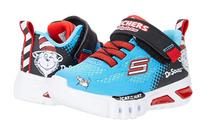 Load image into Gallery viewer, SKECHERS BOYS DYNA-LITE- NAVY/LIME