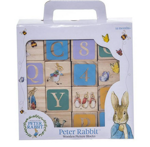 Peter Rabbit Wooden Picture Blocks Multi