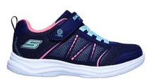 Load image into Gallery viewer, SKECHERS Boys Trainers ThermoFlux Nano Grid -Navy Lime