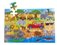 AFRICAN ADVENTURE FLOOR JIGSAW PUZZLE (48 PIECE)