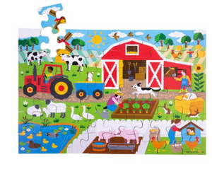 FARMYARD FLOOR JIGSAW PUZZLE (48 PIECE)