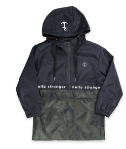 HELLO STRANGER JUNGLE CAMO ANORAK