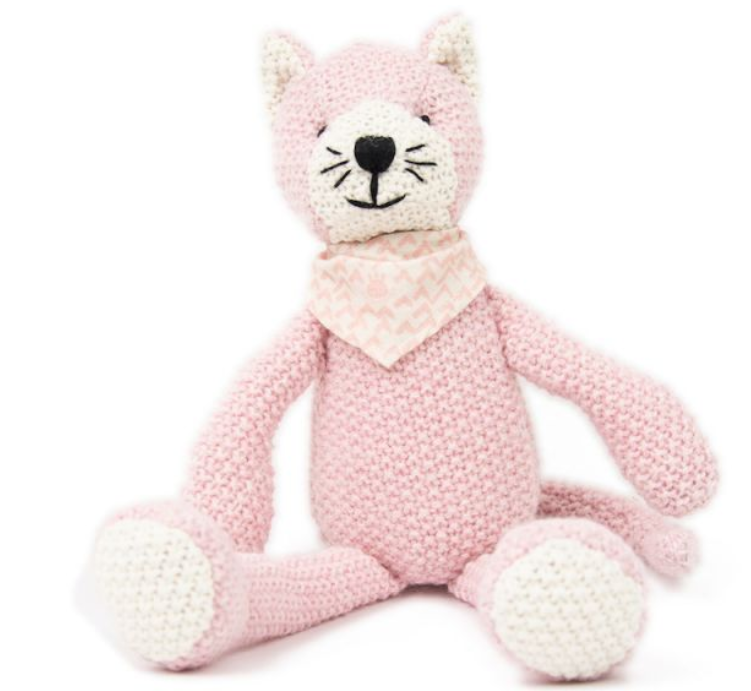PEARL KNIT TOY - KITTY