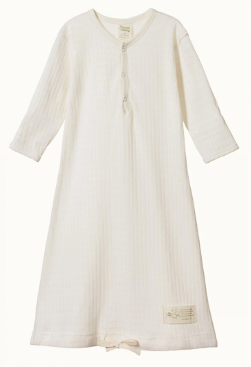 NATURE BABY-GOWN POINTELLE